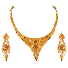 gold necklace with earrings images Buy orra gold set necklace for women online best bridal sets png