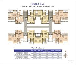 ravinanda trinity floorplans 1 2 bhk residential homes
