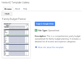 Template Sheets Template Gallery Add On For Sheets And Docs