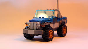 jurassic park jeep instructions simple jeep moc from dune buggy trailer set 60082 youtube