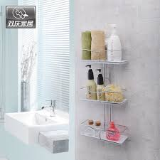 Bathroom Suction Shelves Cupsful Tier Shelves Bathroom Sucker Suction Cup Shelf