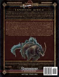 mythic monsters africa volume 43 legendary games loren sieg