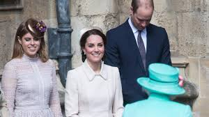 kate middleton at easter services with the queen photos