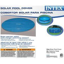 Intex Pools 18x52 Amazon Com Intex Solar Cover For 18ft Diameter Easy Set And