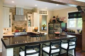 backsplash stone island kitchen best stone kitchen island ideas