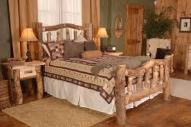 rustic chic bedroom furniture interior design
