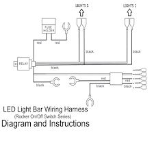 led light bar wiring harness diagram diagrams stunning floralfrocks
