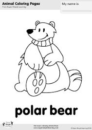 polar bear polar bear hear free coloring pages art