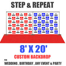step and repeat backdrop 8x20 step and repeat banner eventbackdropbanner