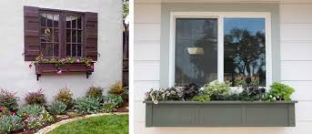Spray Paint Vinyl Shutters - painting pvc window boxes and shutters