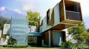 shipping container building designs architectural style