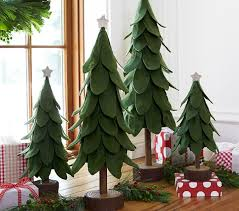 green felt trees pottery barn kids