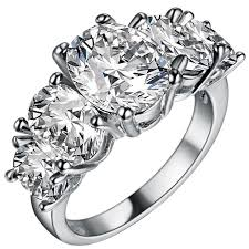 sterling diamond china find more rings information about luxury white sapphire 925 sterling