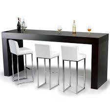 acheter bar cuisine table de bar haute rectangulaire maison design bahbe com