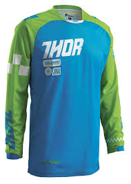 thor motocross jersey 2016 thor mx phase ramble youth kids motocross gear blue green