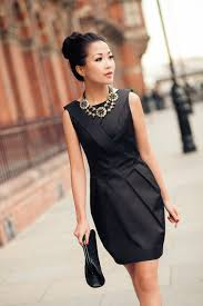 dress with necklace images Black dress with necklace women 39 s style jpg