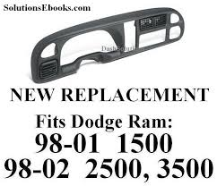 dashboard dodge ram 1500 replacement buy 1998 2001 1999 2000 dodge ram 1500 dashboard bezel replacement