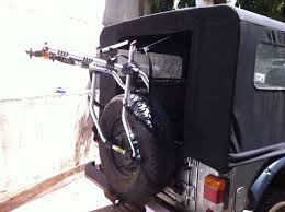 car bicycle carrier for mahindra thar jeep