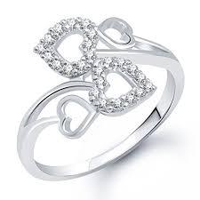 girls rings silver images Buy meenaz fancy ring for girls women silver plated fr176 online jpg