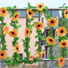 Fake Sunflowers 12 Diy Floral Decor Of Fake Flowers For Romantic Ambient