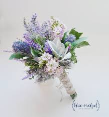 wedding flowers lavender lavender and lilac wildflower bouquet with s ear rustic