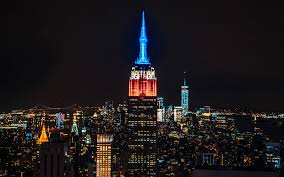 empire state building lights tonight empire state building facts travel leisure