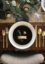 Dinner Table Decor Table Setting Ideas Table Setting Inspiration Blank Canvas And