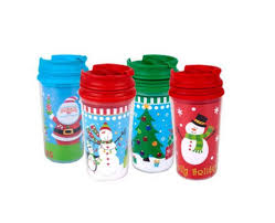 amazon com childrens kids christmas holiday travel mugs 11 oz