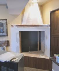 fireplace new cement fireplace surround cool home design fancy