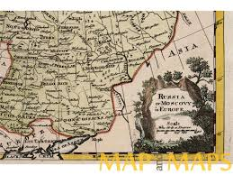 Europe Russia Map Map Russia Or Moscovy In Europe Arkhangelsk Oblast Jefferson 1747