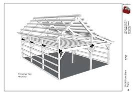14x30 dairy barn plans
