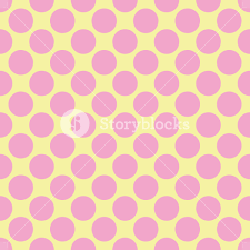 yellow with pink polka dots pink polka dots pattern on a yellow background royalty free stock