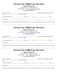 Samples Of Daycare Contracts Resume Cv Cover Letter