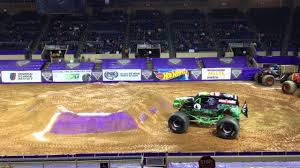 Bergland Center Roanoke Va Monster Jam 2016 Grave Digger Wheelie