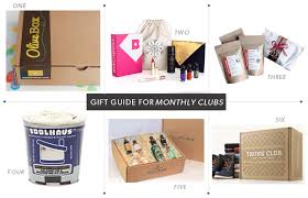 monthly clubs purkey gift guide for monthly clubs