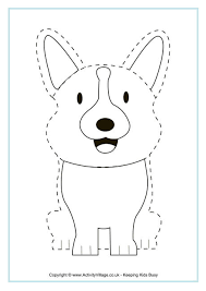 dog colouring pages