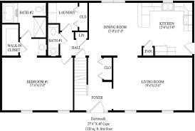 Dartmouth Floor Plans Bar Harbor Cape Style Modular Homes