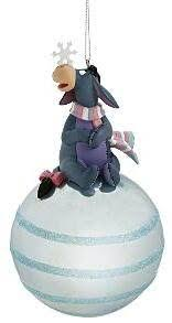 eeyore with snowflake ornament from our collection
