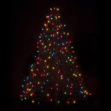 wire christmas tree with lights diy amazing outdoor lighted christmas trees furniture wire outdoor