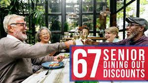 restaurant discounts 67 restaurant discounts freebies for seniors senior discount club