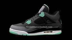 green glow 4 air 4 retro green glow release details foot locker
