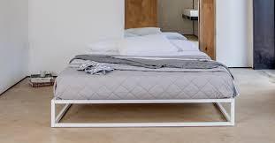 mondrian metal platform bed no headboard get laid beds