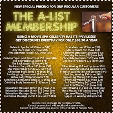 the movie spa referrals rewards u0026 birthday discounts