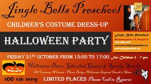 halloween costume party jingle bells pre