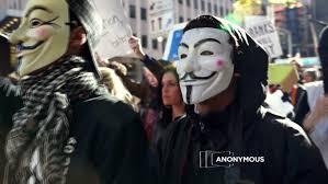 Anonymous Halloween Costume Anonymous Strikes Feds Shut Piracy Hub Megaupload Cnn