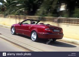 car mercedes red car mercedes clk 320 convertible model year 2003 red open