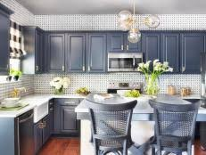 How To Paint Cabinets HGTV - Painting kitchen cabinet