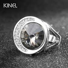 rock silver rings images Luxury punk rock bands unusual gray austrian crystal wedding rings jpg