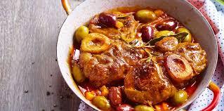 cuisiner jarret de boeuf jarret de veau aux olives facile recette sur cuisine actuelle