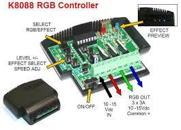 rgb led light controller rgb led and light controller electronic kit k8088